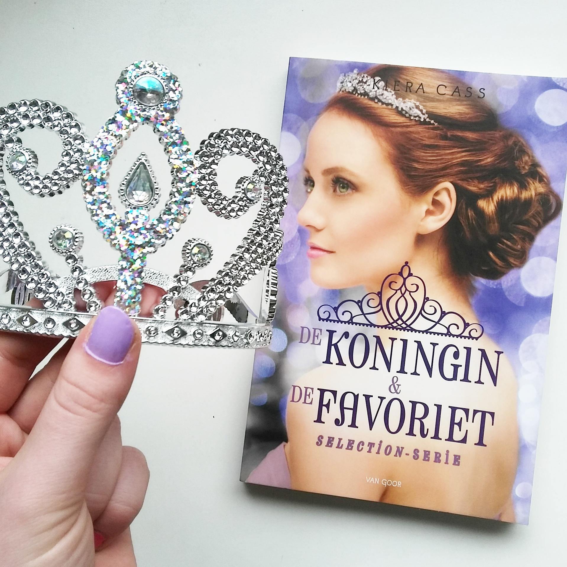 Boekrecensie: Kiera Cass - De koningin en de favoriet