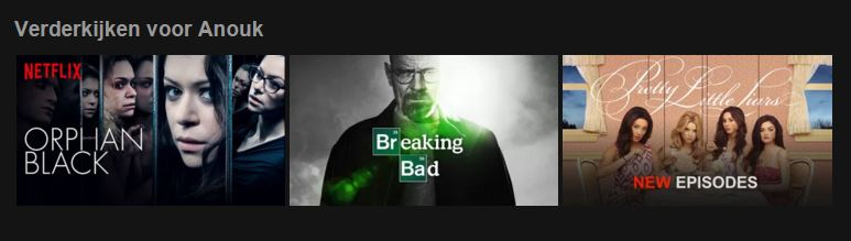 Tag #2: I love Netflix