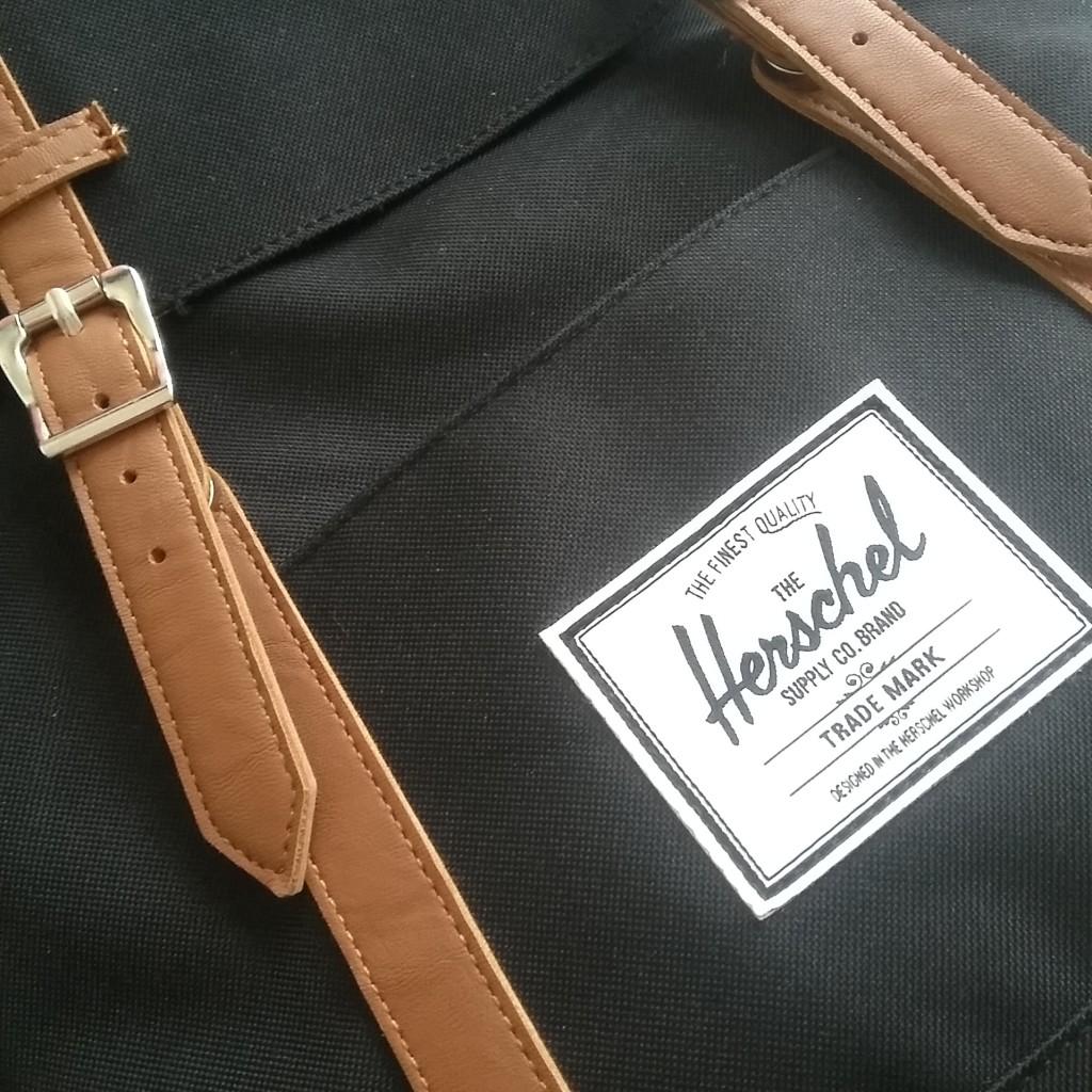 Ideaal voor op reis: rugzak van Herschel