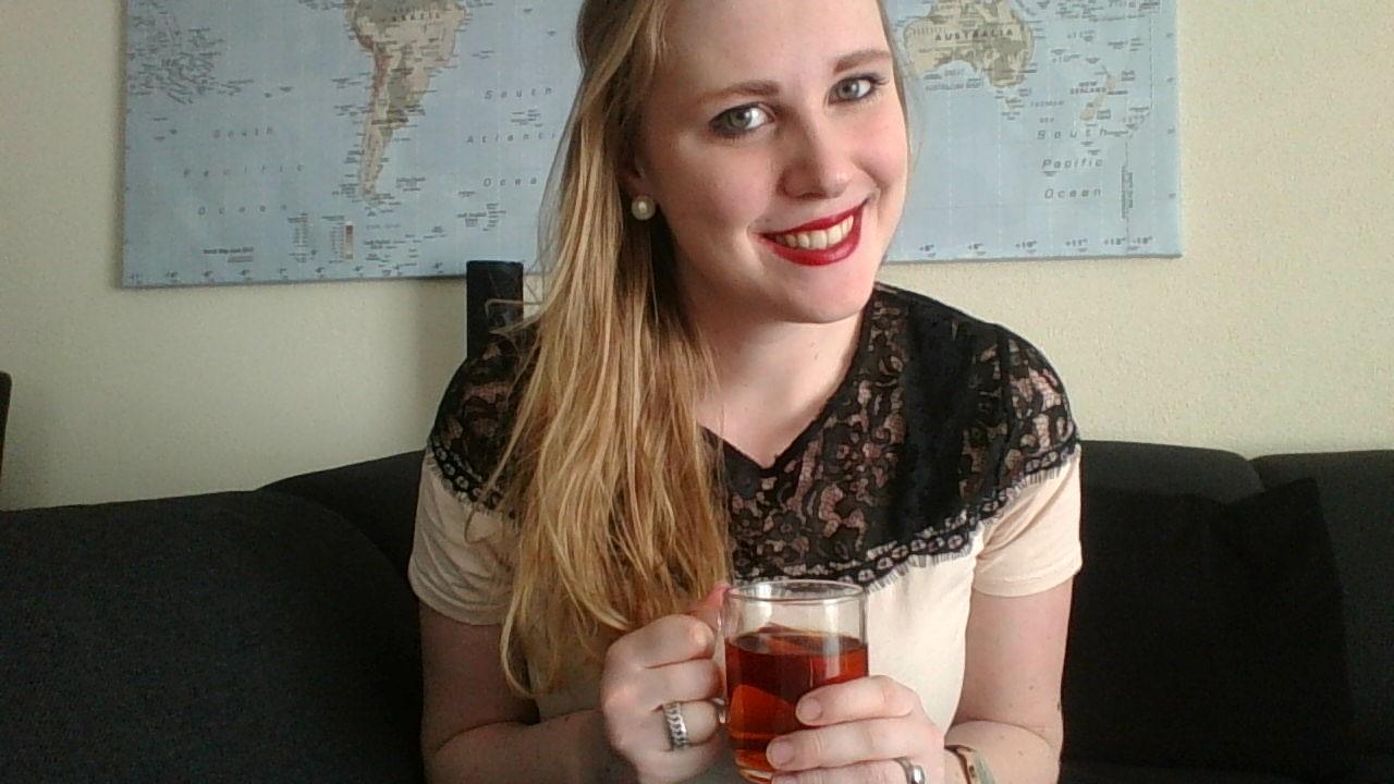 Tijd voor thee: Hé Anouk, hoe gaat het met je scriptie?