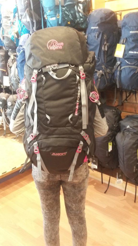 Ik heb een nieuwe backpack!