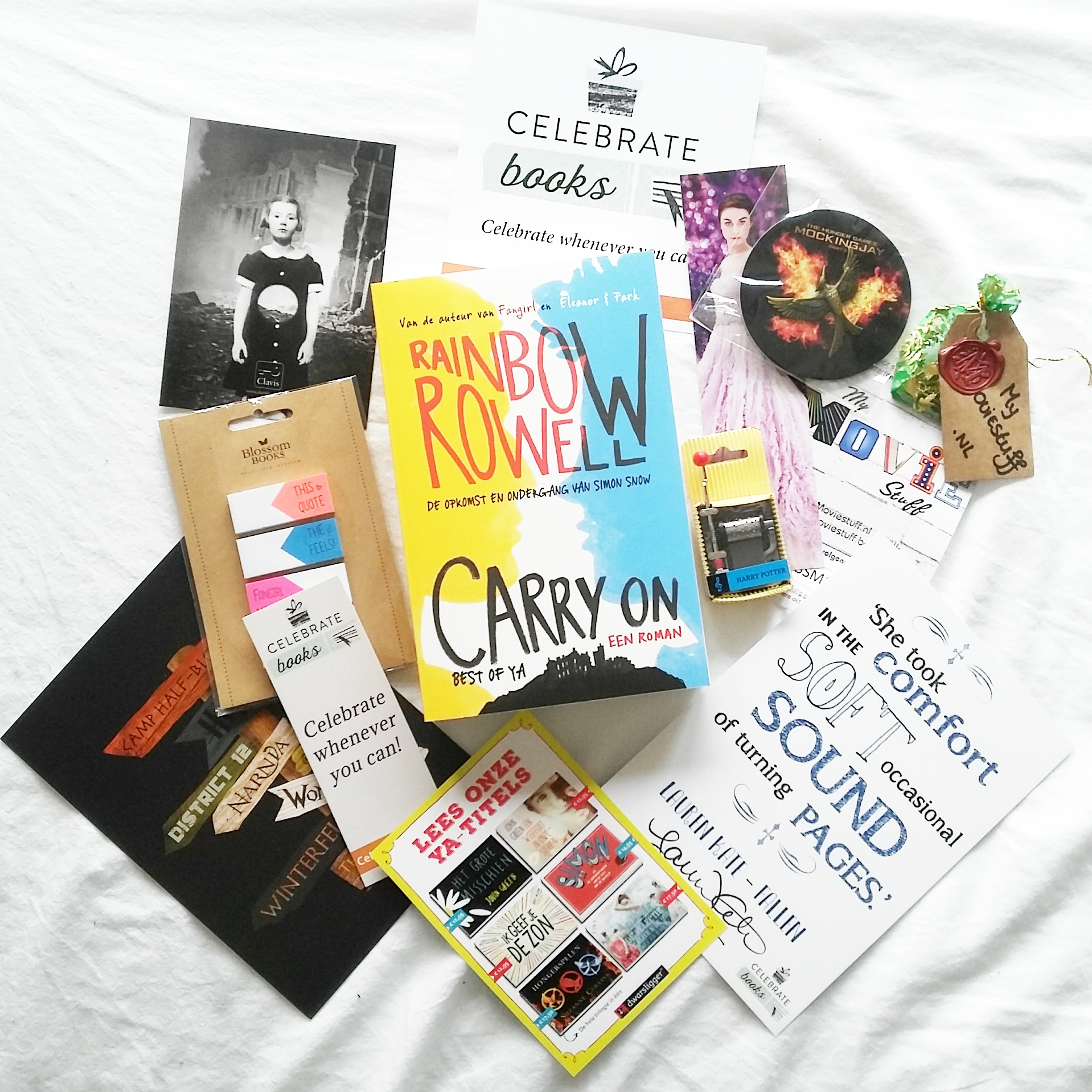 Dit is de allereerste Celebrate Books Box!