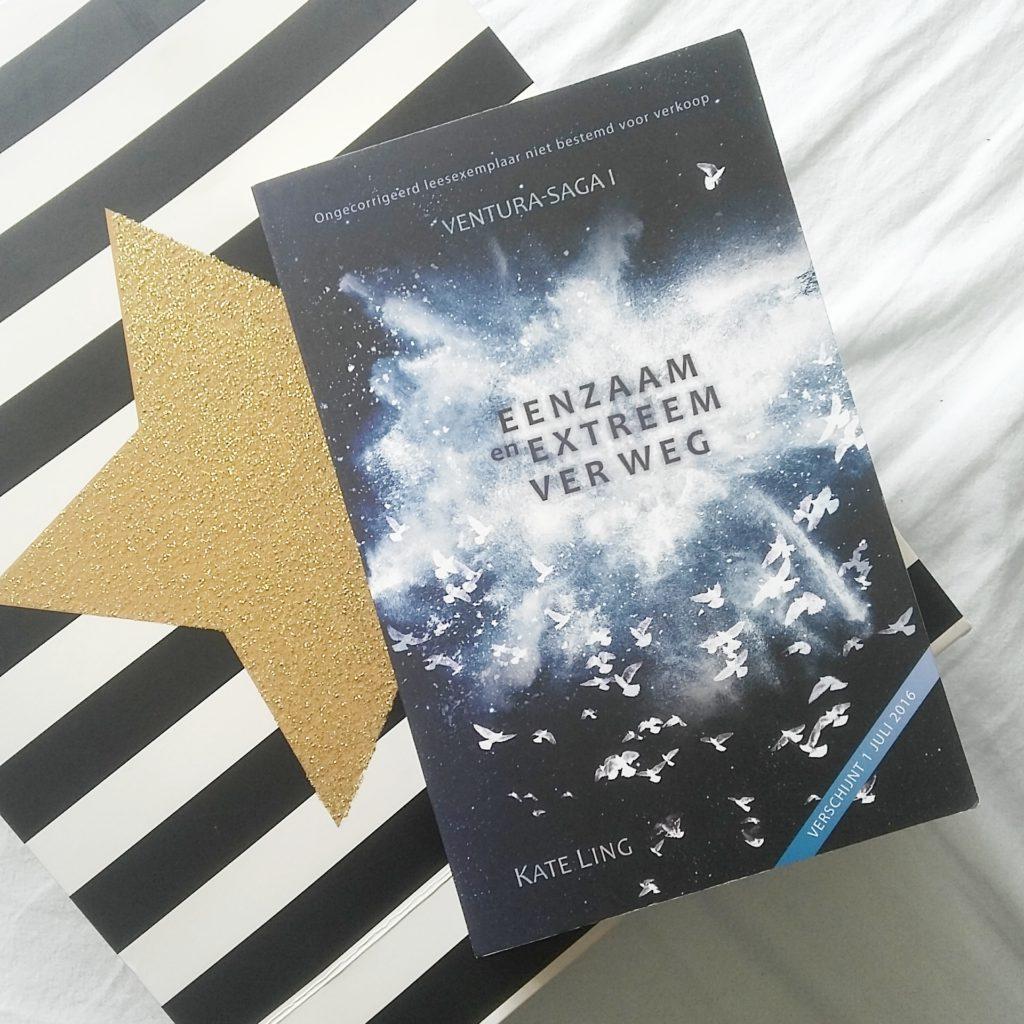Boekrecensie en evenement: Kate Ling - Eenzaam en Extreem ver weg