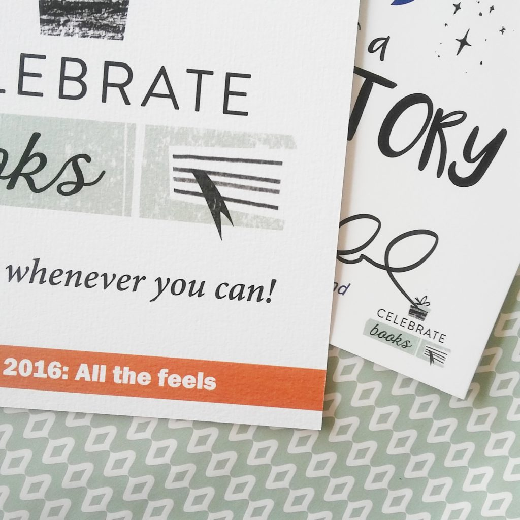 Unboxing: Celebrate Books Box ''All the feels''