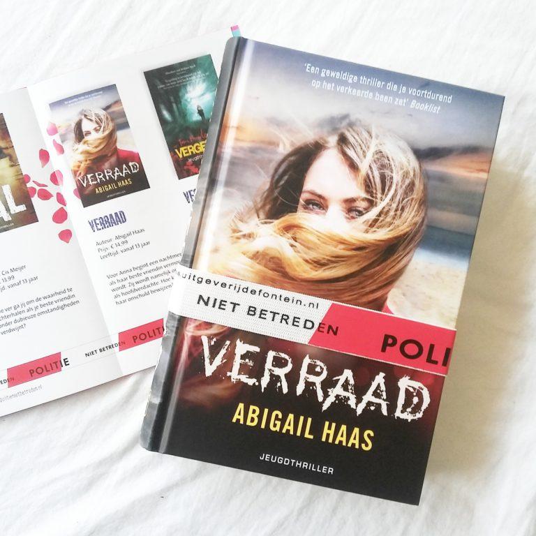 Boekrecensie: Abigail Haas - Verraad