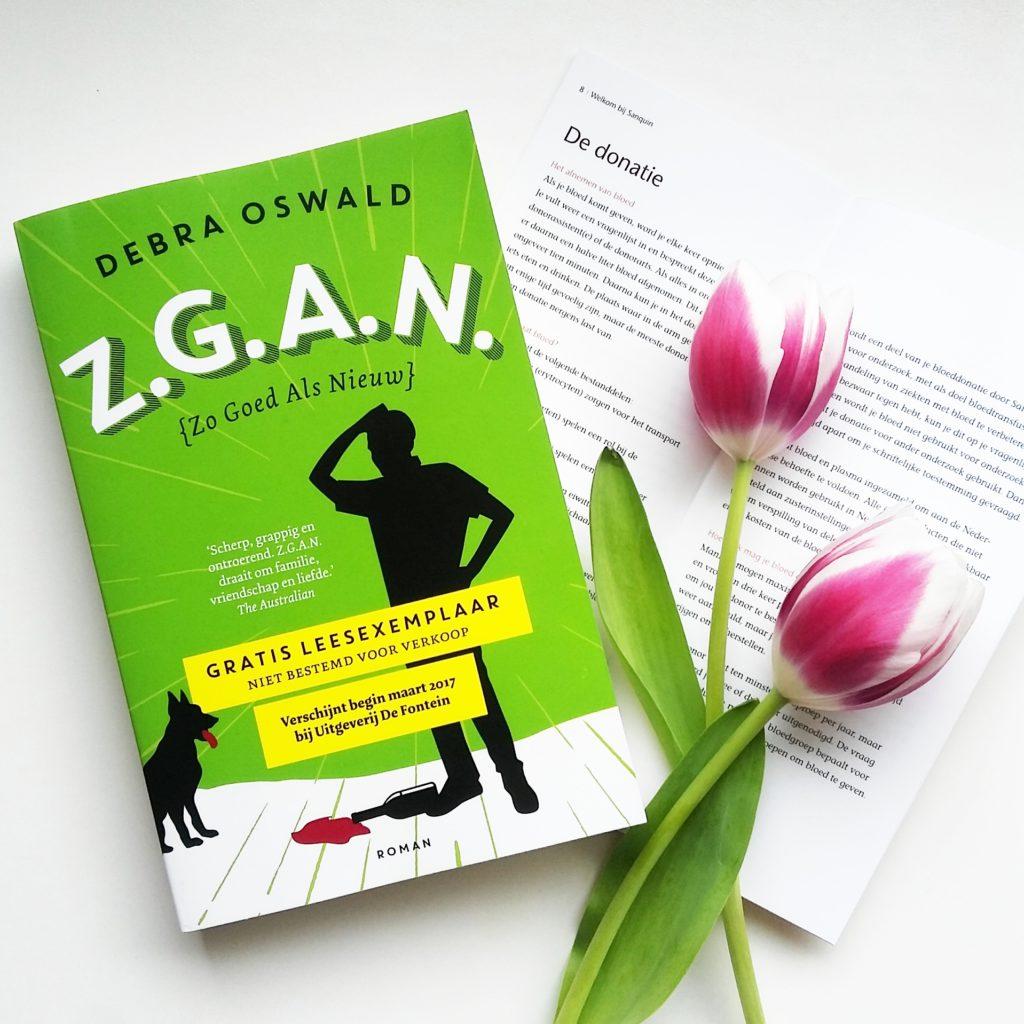 Boekrecensie: Debra Oswald - Z.g.a.n. (Zo Goed Als Nieuw)