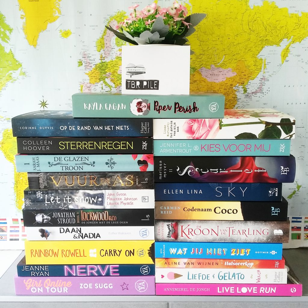 Gelezen in april + TBR mei