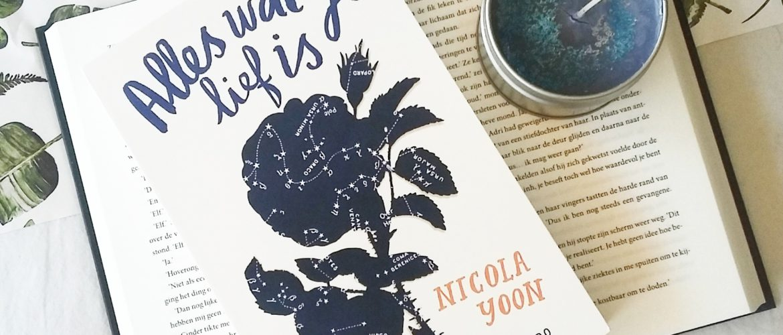 Boekrecensie: Nicola Yoon - Alles wat je lief is