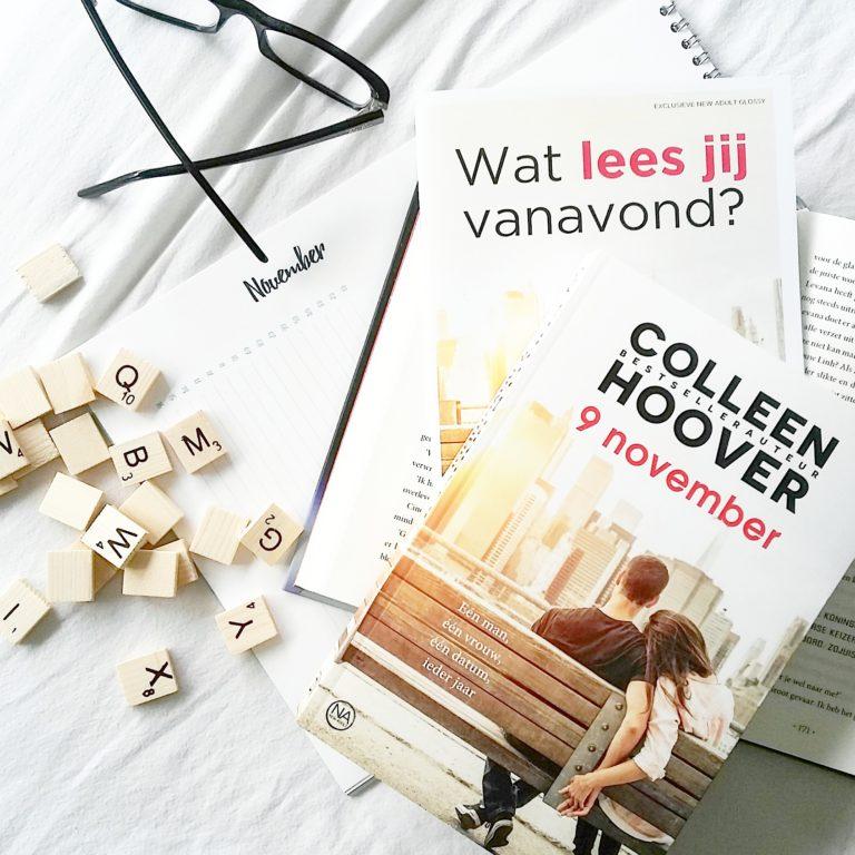 Colleen Hoover - 9 november: mijn favoriet