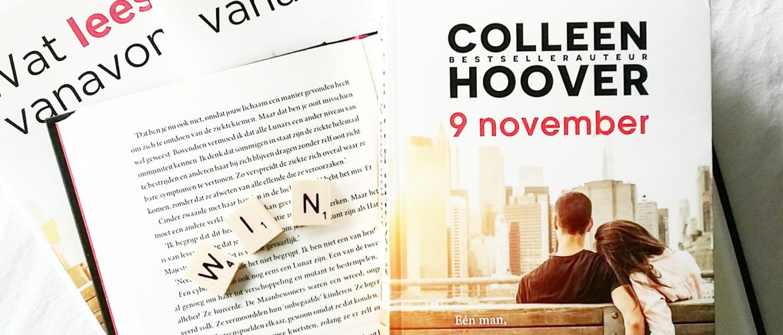 Winactie: Colleen Hoover - 9 november