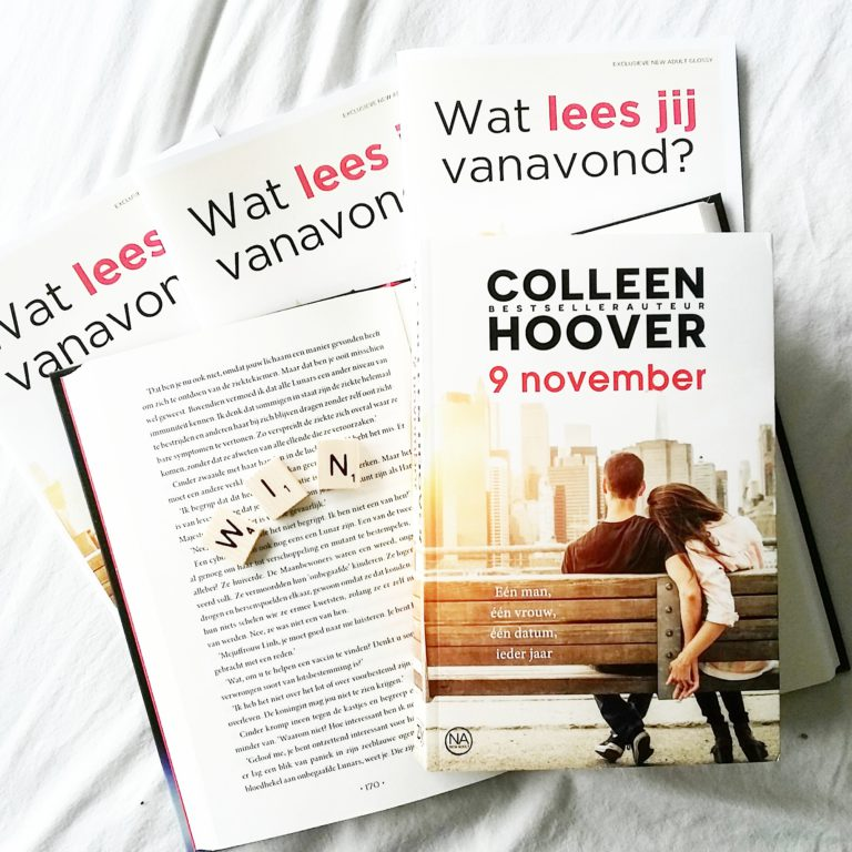 Winactie: Colleen Hoover - 9 november
