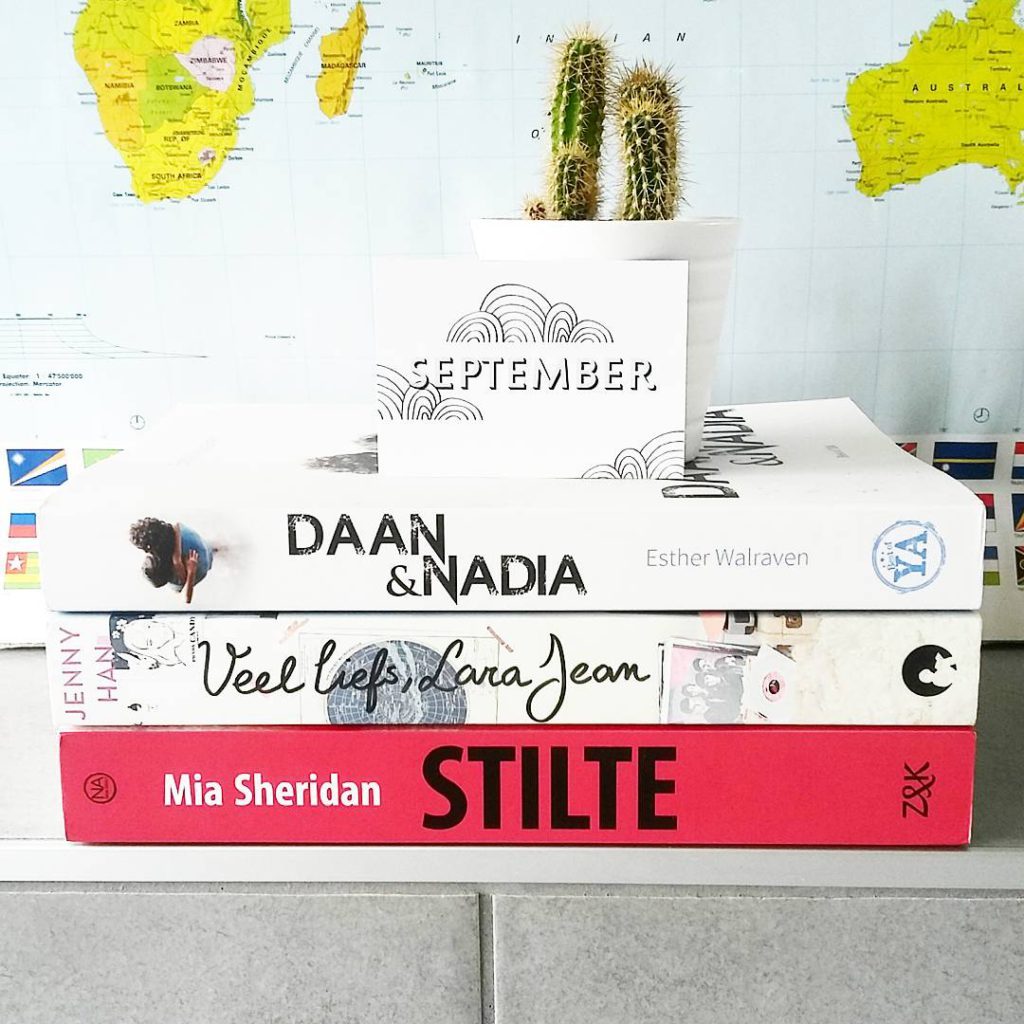 Gelezen in september + TBR oktober