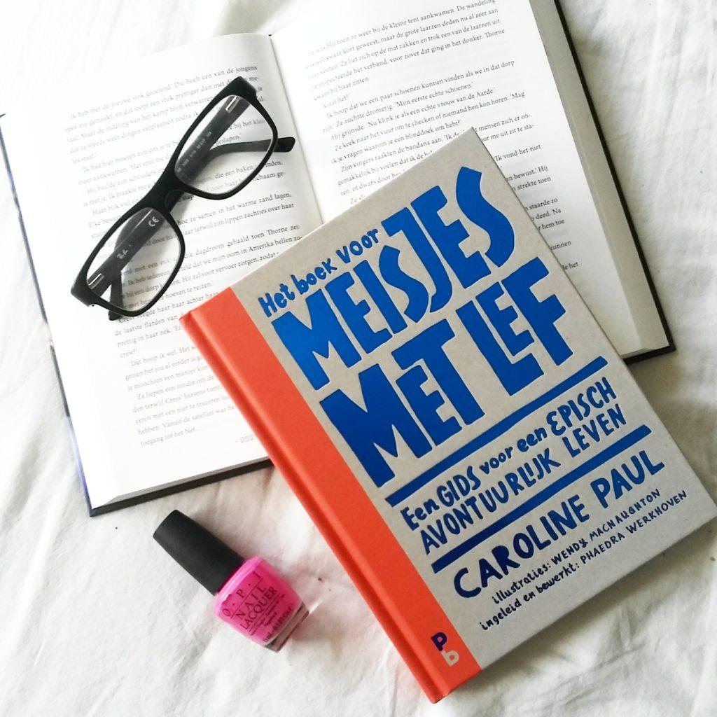 Boekrecensie: Caroline Paul - Het boek voor meisjes met lef