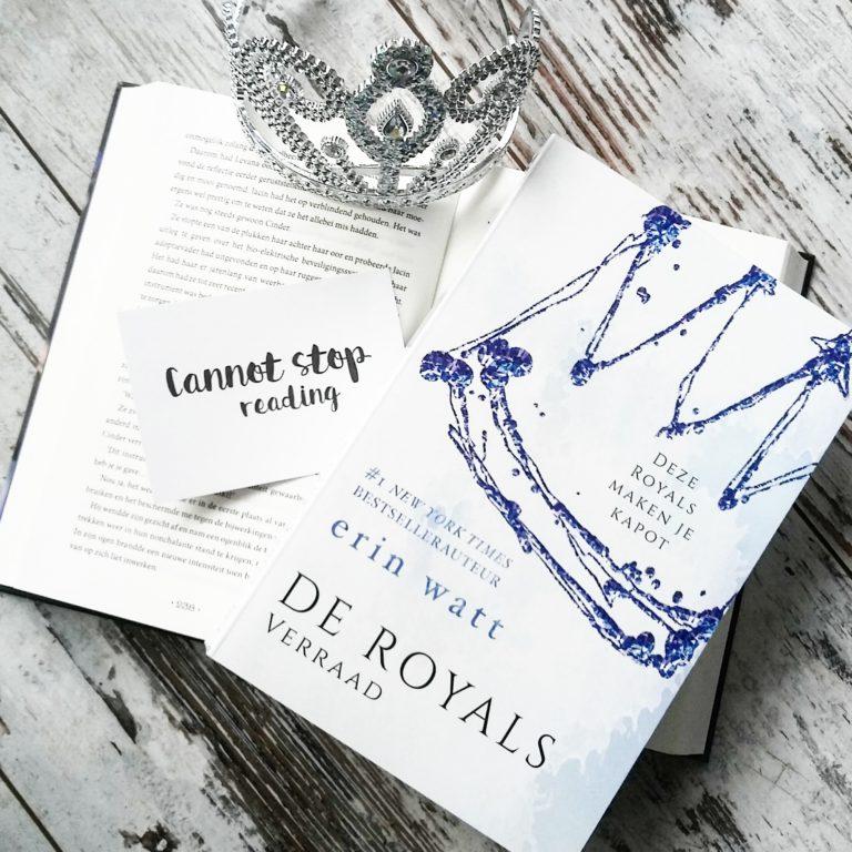 Boekrecensie: Erin Watt - Verraad (De Royals #2)