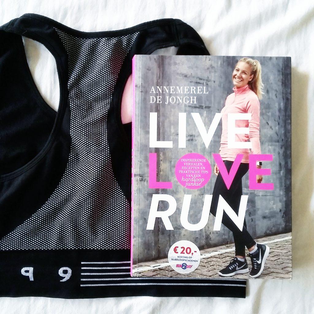 Boekrecensie: Annemerel de Jongh - Live, love, run