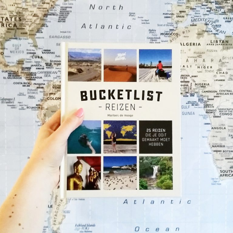 Boekrecensie: Marloes de Hooge - Bucketlist reizen