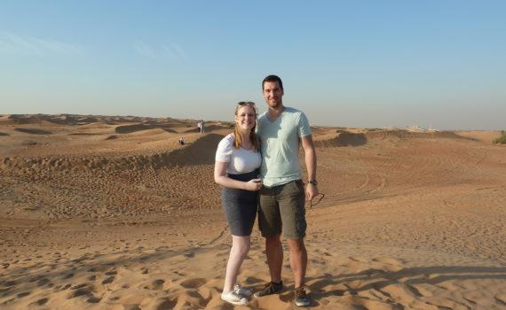 Mijn februari: Dubai, fulltime werken en afstudeerceremonie!