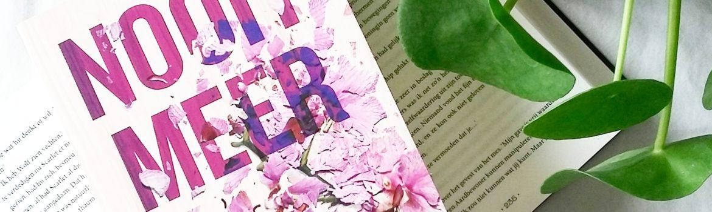 Boekrecensie: Colleen Hoover - Nooit meer