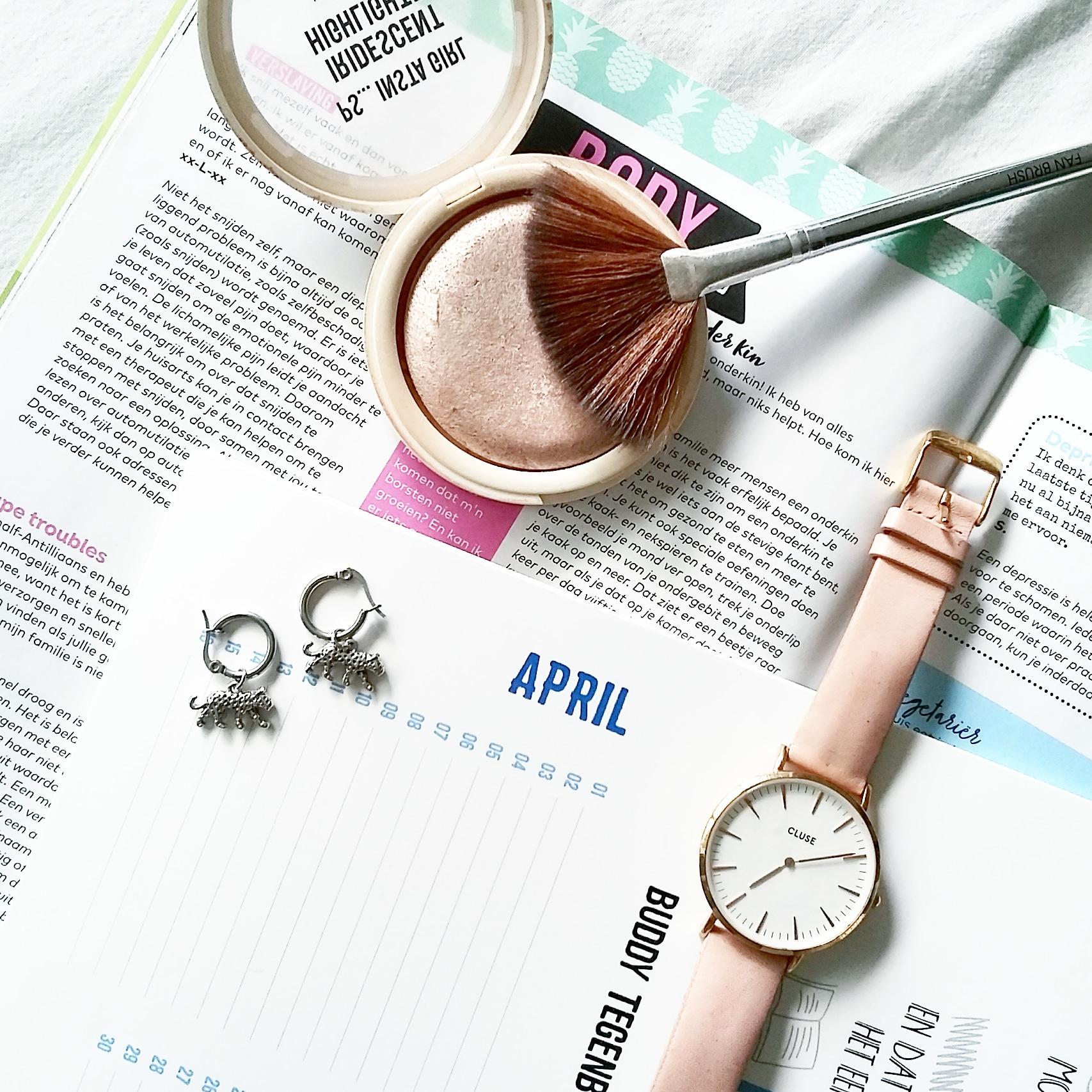 Mijn april: een 'rustige' maand!