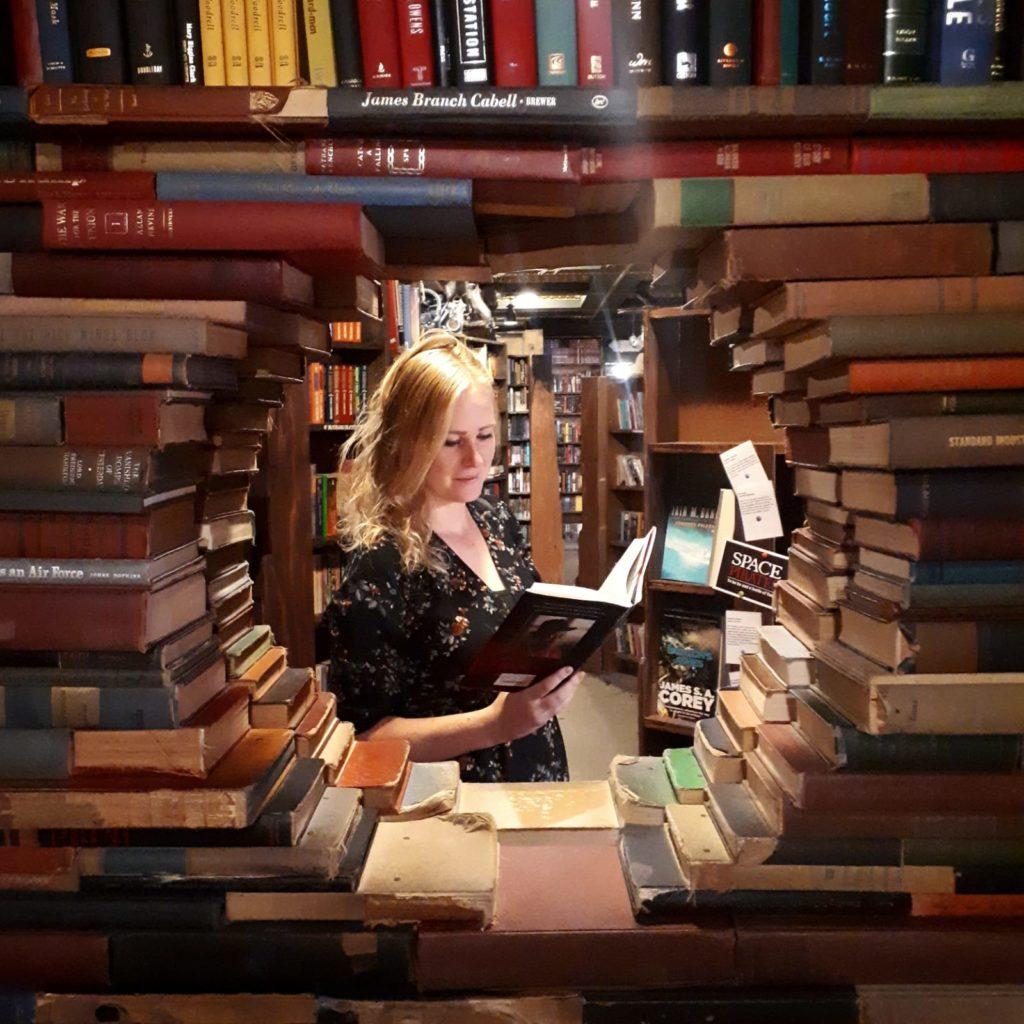 Deze 8 e-books las ik in september 2019 op wereldreis