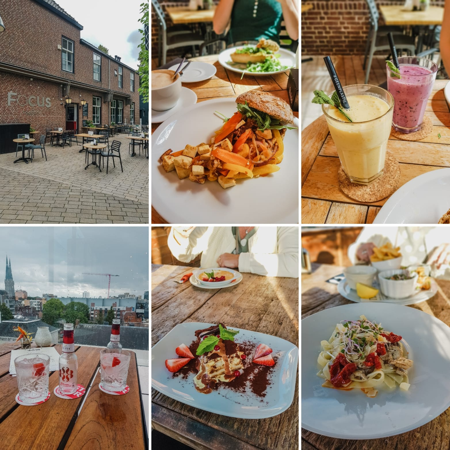 Week 34 (2020): lunches en dagje Haarlem!
