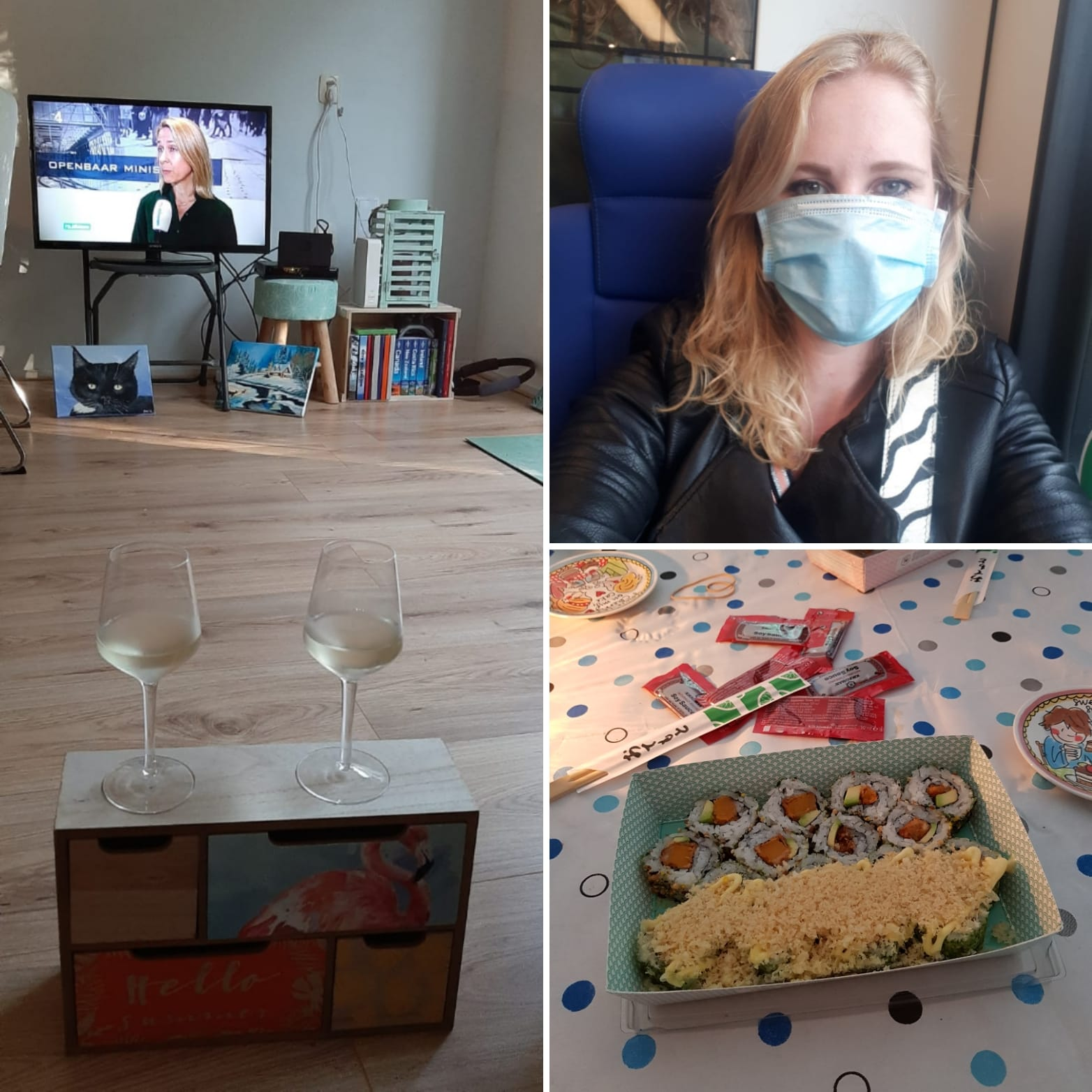 Week 35 (2020): etentjes en vriendinnendag!