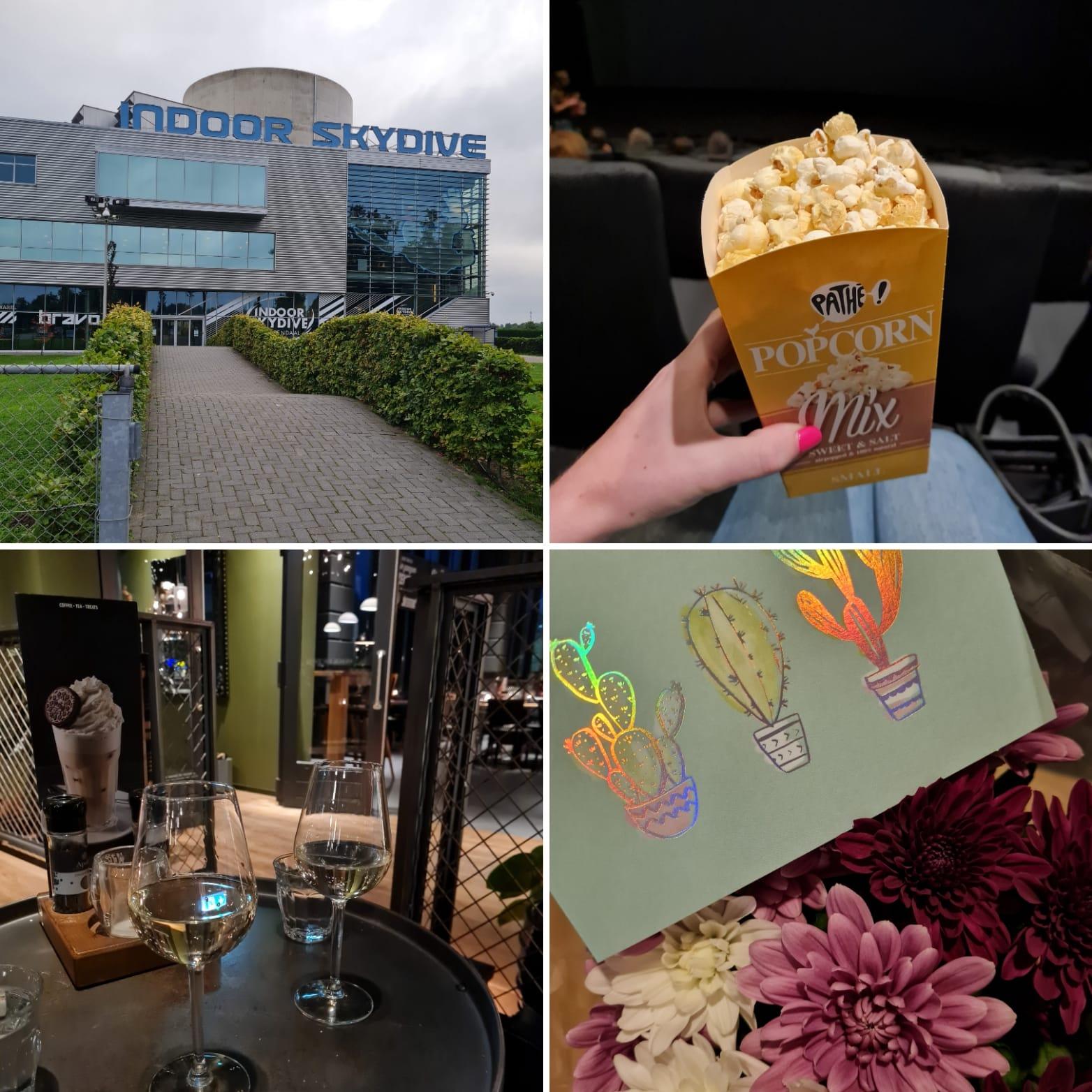 Week 33 (2021): werken, bios, borrels en high tea!